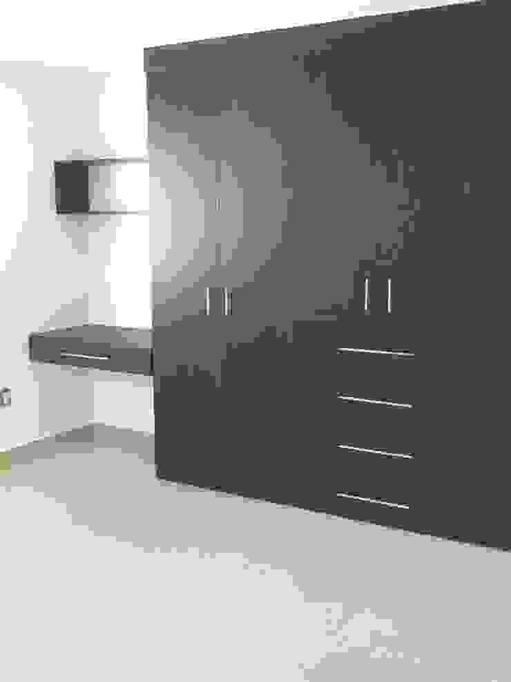 Habitación Dormitorios modernos de SANTIAGO PARDO ARQUITECTO Moderno