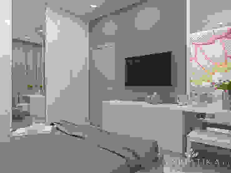 Dormitorios de estilo  por variatika, Minimalista