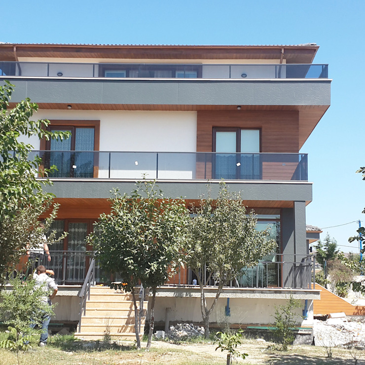 Modern Terrace by CANSEL BOZKURT interior architect Modern
