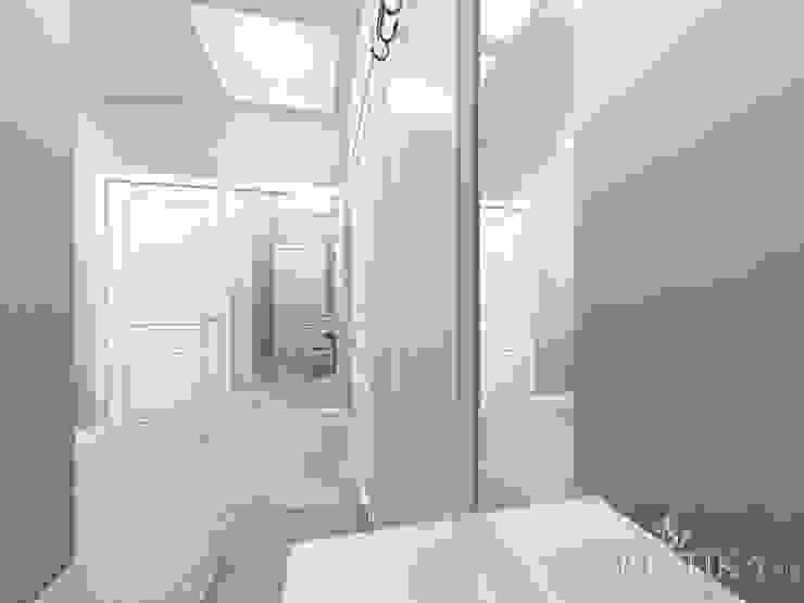 ЖК Life Волжская – 59 м² Коридор, прихожая и лестница в эклектичном стиле от variatika Эклектичный