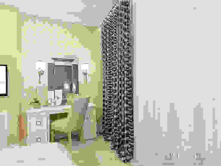 ЖК Life Волжская – 59 м² Спальня в эклектичном стиле от variatika Эклектичный