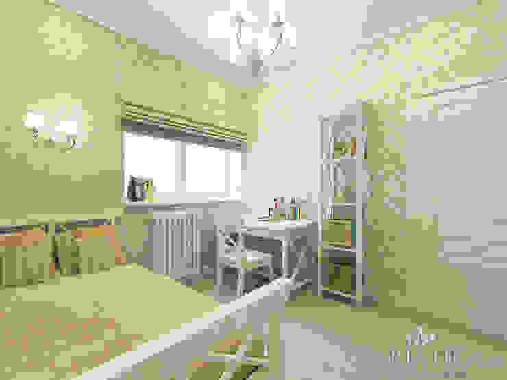 ЖК Life Волжская – 59 м² Детские комната в эклектичном стиле от variatika Эклектичный