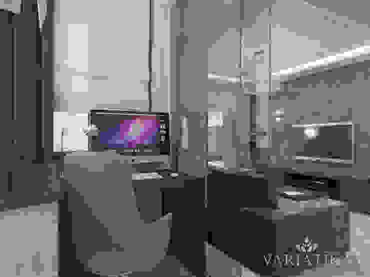 Дизайн квартиры в ЖК Гусарская Баллада Балконы и веранды в эклектичном стиле от variatika Эклектичный