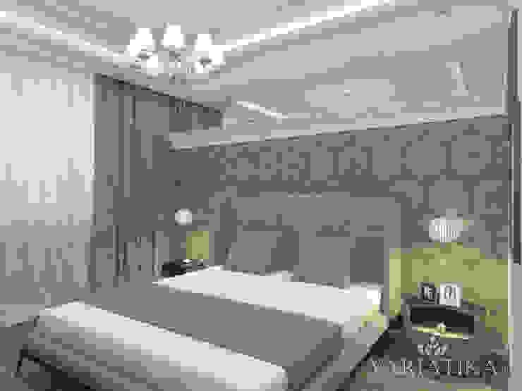 Дизайн квартиры в ЖК Гусарская Баллада Спальня в эклектичном стиле от variatika Эклектичный