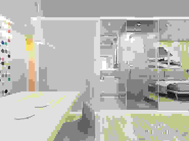 Дизайн квартиры в ЖК Арт, 44 кв.м. Ванная комната в стиле минимализм от variatika Минимализм
