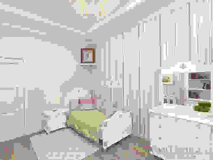 ЖК Вешняки – 100 м² Детские комната в эклектичном стиле от variatika Эклектичный