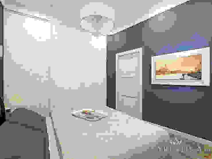 ЖК Вешняки – 100 м² Спальня в эклектичном стиле от variatika Эклектичный
