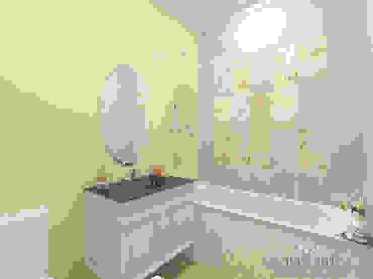 ЖК Вешняки – 100 м² Ванная комната в эклектичном стиле от variatika Эклектичный