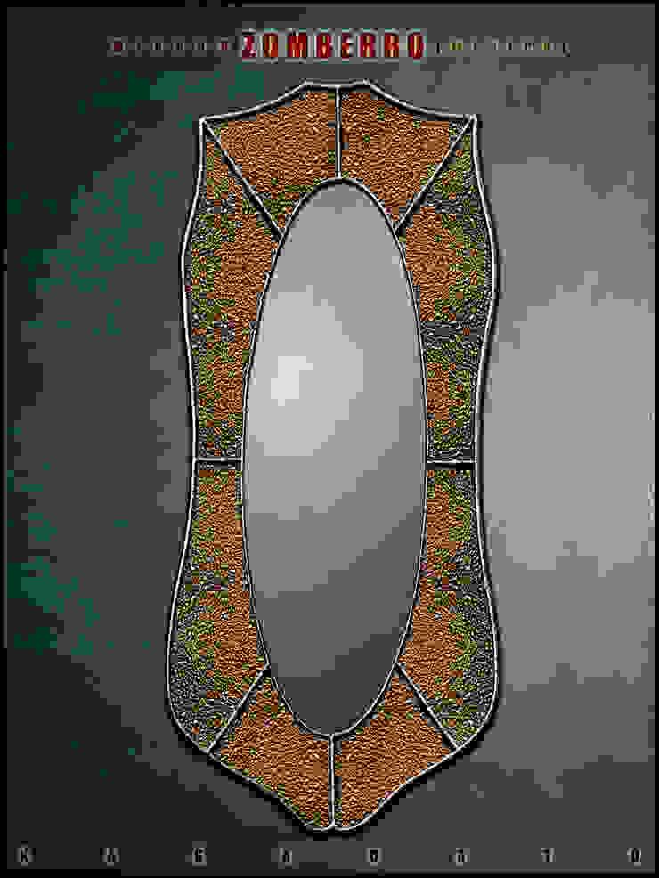 Creative mirror - KAGADATO 玄關、走廊與階梯配件與裝飾品