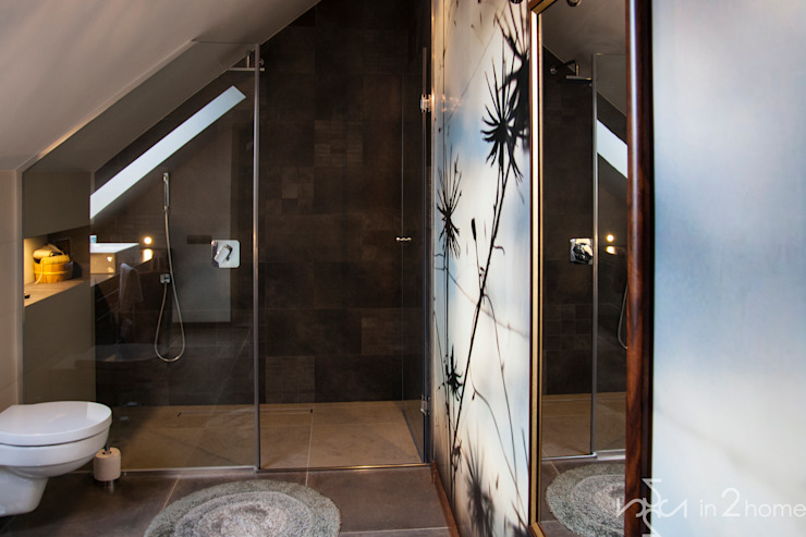 Eclectic style bathroom by in2home Eclectic Tiles