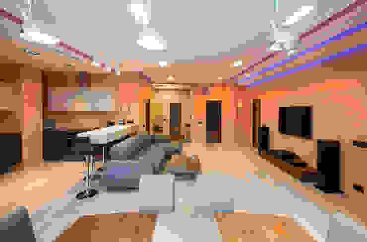 Sky Gallery Minimalist living room