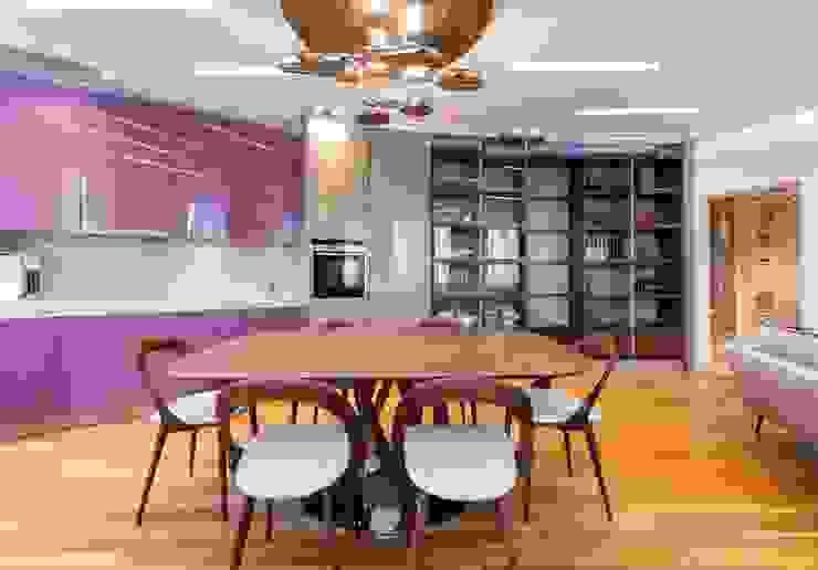 Sky Gallery Minimalist dining room