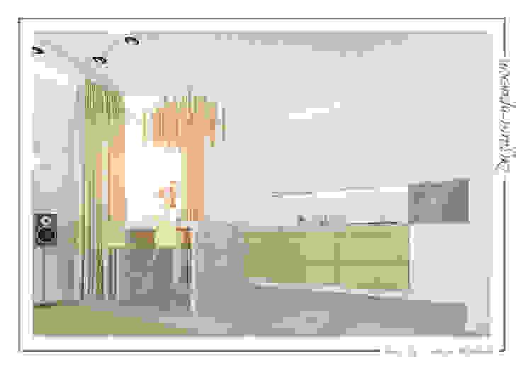 Sweet home Кухня в стиле минимализм от mlynchyk interiors Минимализм