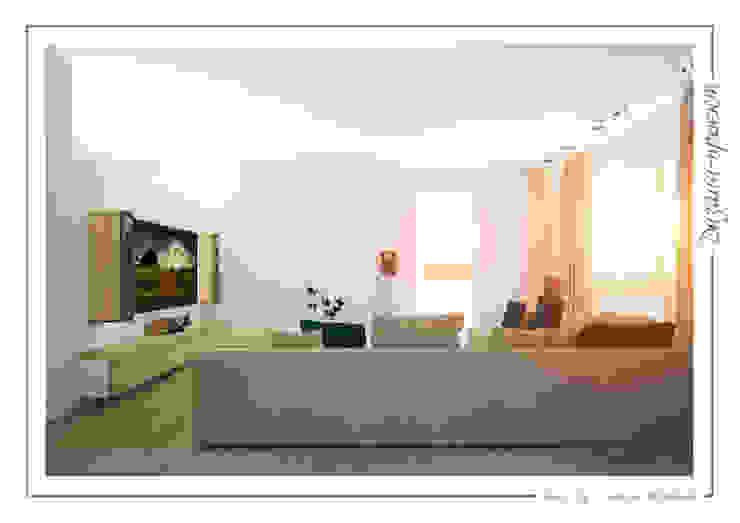 Sweet home Гостиная в стиле минимализм от mlynchyk interiors Минимализм