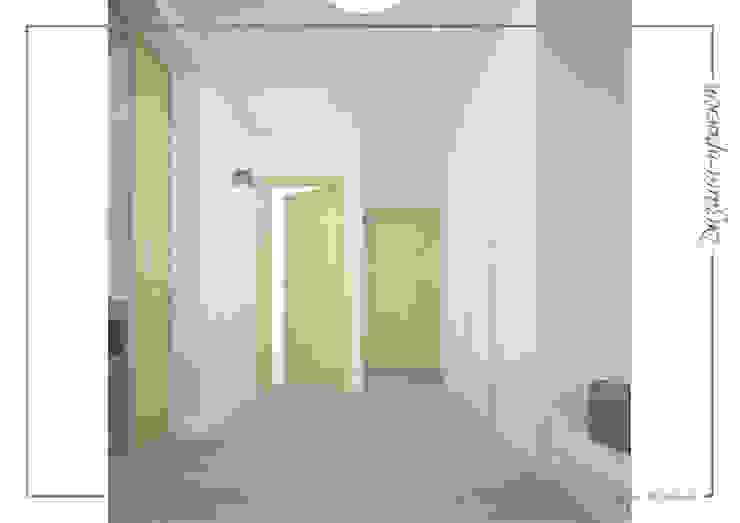 Темное-не значит темно, светлое -не значит стерильно Коридор, прихожая и лестница в стиле минимализм от mlynchyk interiors Минимализм
