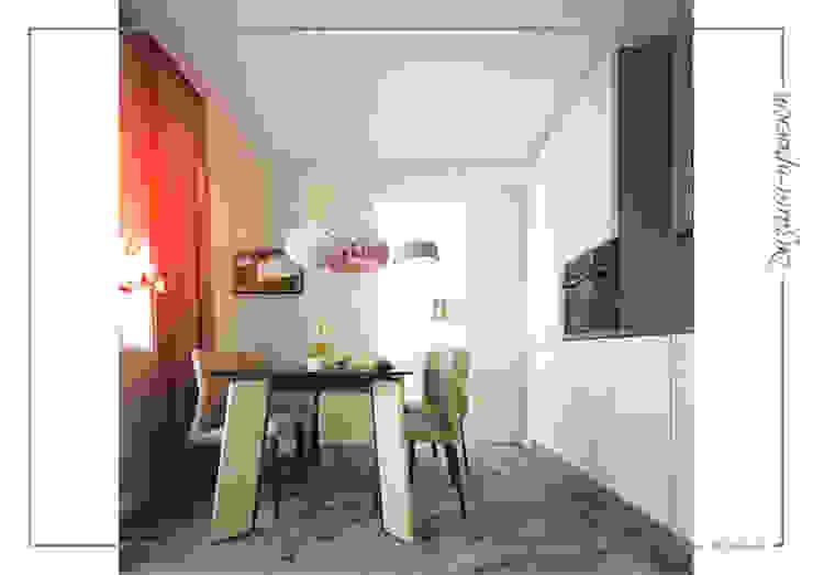 Темное-не значит темно, светлое -не значит стерильно Кухня в стиле минимализм от mlynchyk interiors Минимализм