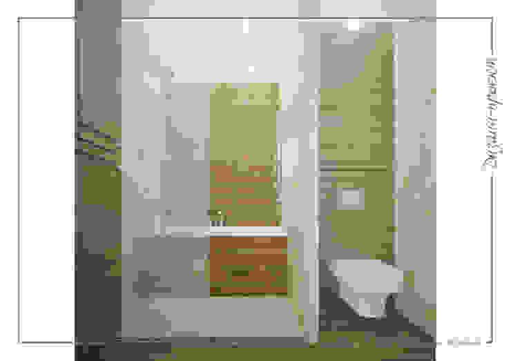 Темное-не значит темно, светлое -не значит стерильно Ванная комната в стиле минимализм от mlynchyk interiors Минимализм