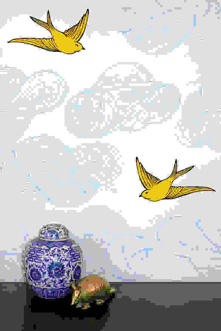 Daydream Wallpaper - Sunshine od Monument Interiors Eklektyczny Papier