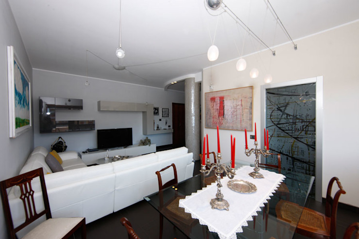 Salon moderne par RGROOM Moderne