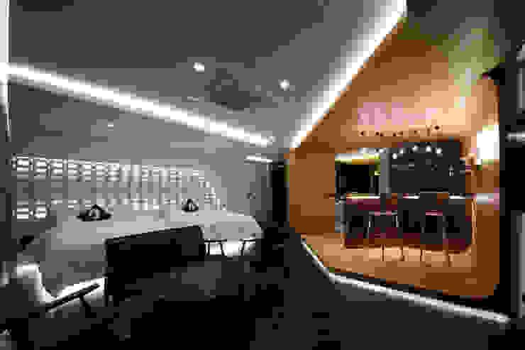 Гостиная в стиле модерн от Seungmo Lim Модерн