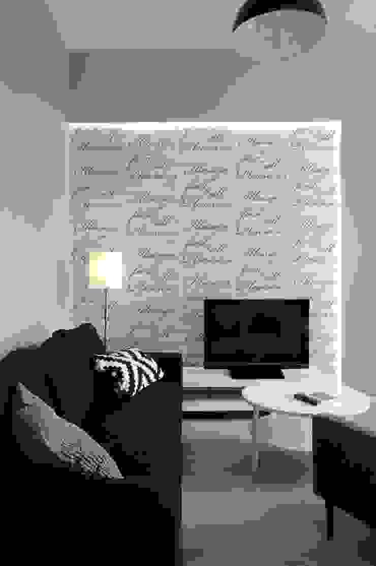 ARTEMA PRACOWANIA ARCHITEKTURY WNĘTRZ Modern Living Room Grey