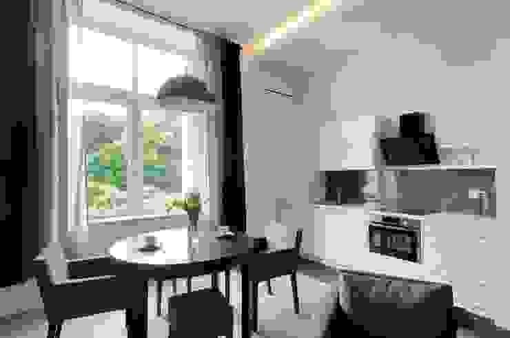 ARTEMA PRACOWANIA ARCHITEKTURY WNĘTRZ Modern Kitchen Grey
