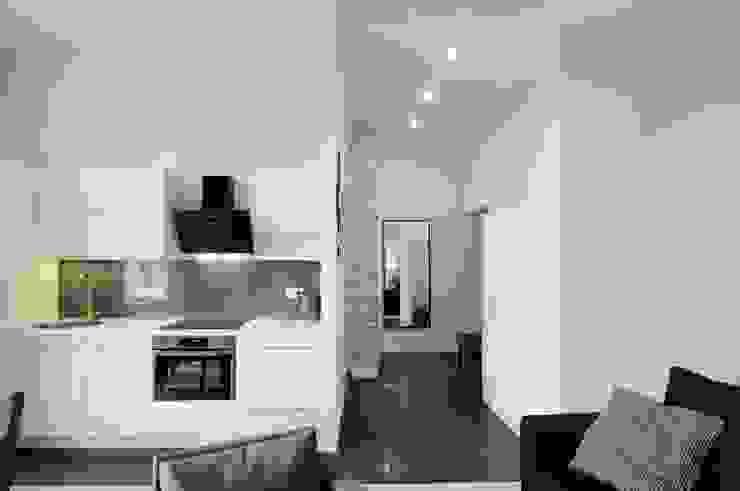 ARTEMA PRACOWANIA ARCHITEKTURY WNĘTRZ Modern Kitchen White