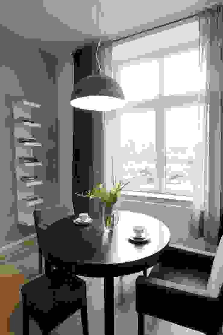 ARTEMA PRACOWANIA ARCHITEKTURY WNĘTRZ Modern Dining Room Grey