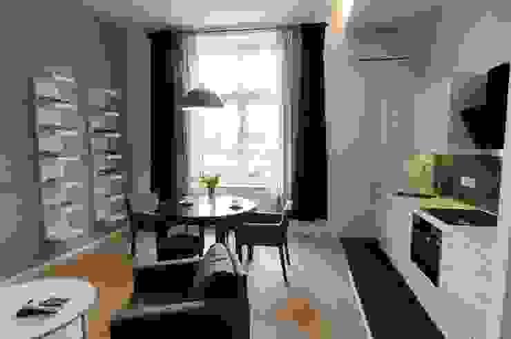 ARTEMA PRACOWANIA ARCHITEKTURY WNĘTRZ Modern Dining Room White