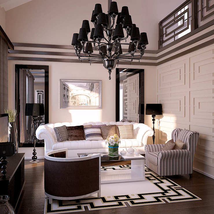 Klassieke woonkamers van Shtantke Interior Design Klassiek