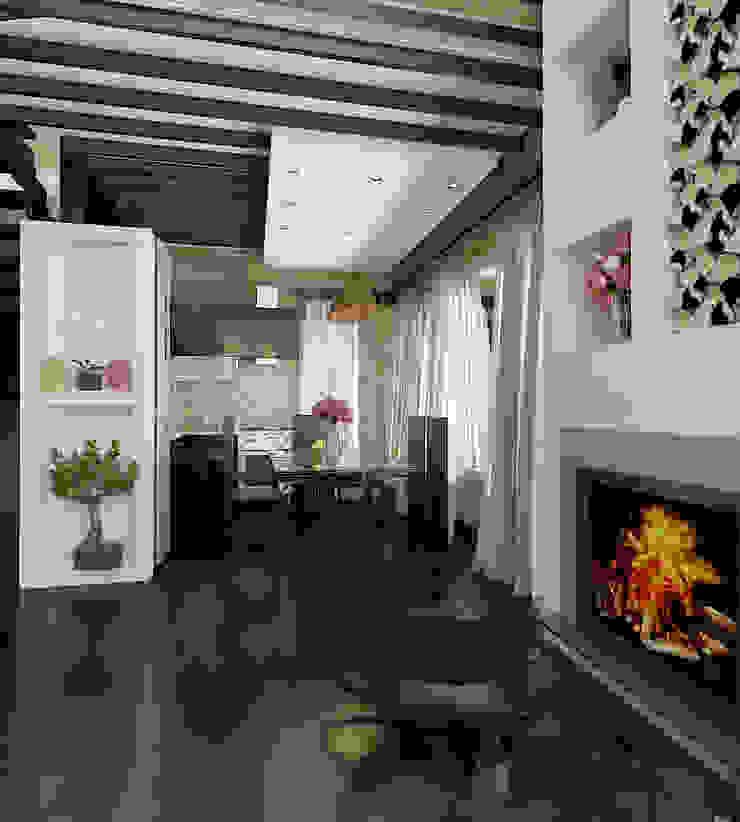 Private House Klasyczny salon od Shtantke Interior Design Klasyczny