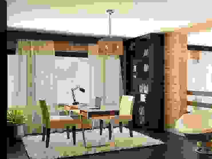 Estudios y despachos de estilo  de Shtantke Interior Design,