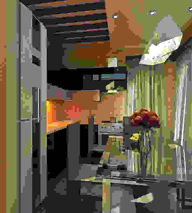 Private House Klasyczna kuchnia od Shtantke Interior Design Klasyczny