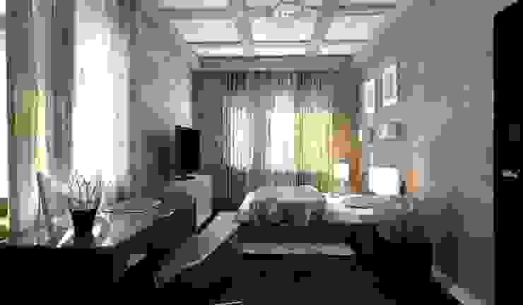 Private House Klasyczna sypialnia od Shtantke Interior Design Klasyczny