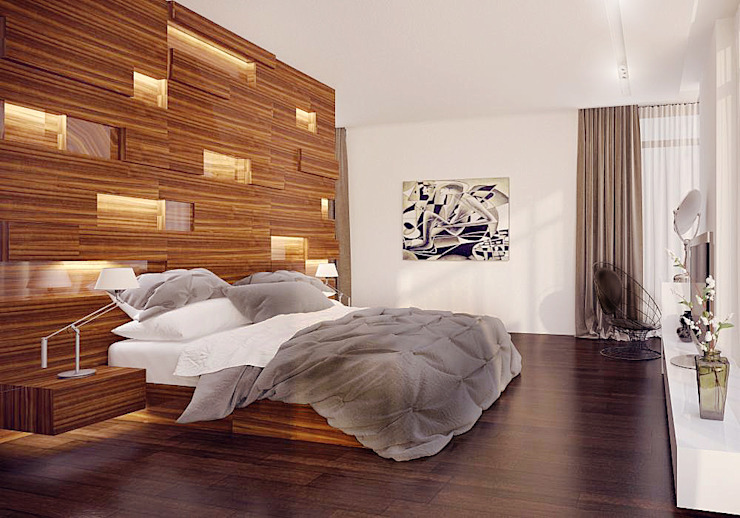 Modern Bedroom by Shtantke Interior Design Modern
