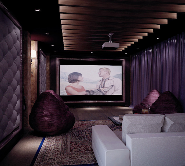 Shtantke Interior Design Media room