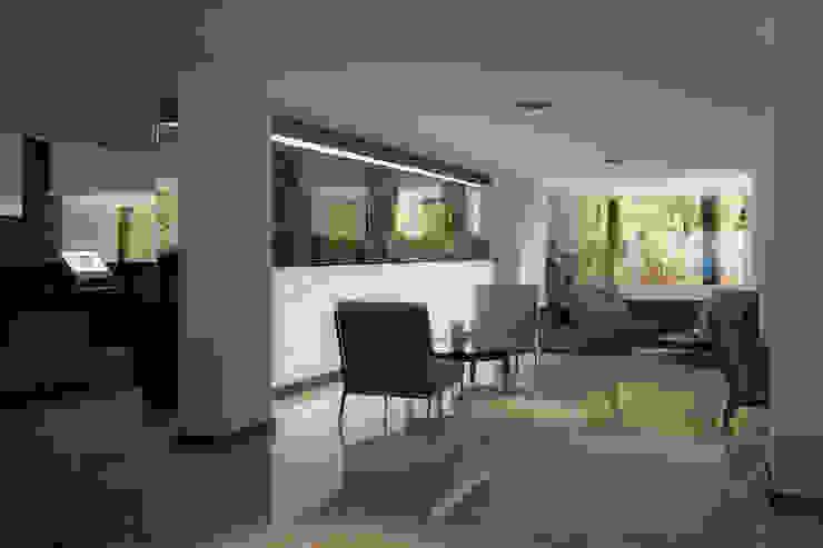 HOTEL LOBBY Modern Oturma Odası FARGO DESIGNS Modern Mermer