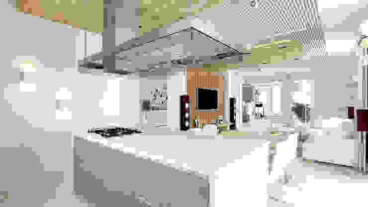 Кухня в стиле минимализм от homify Минимализм Дерево Эффект древесины