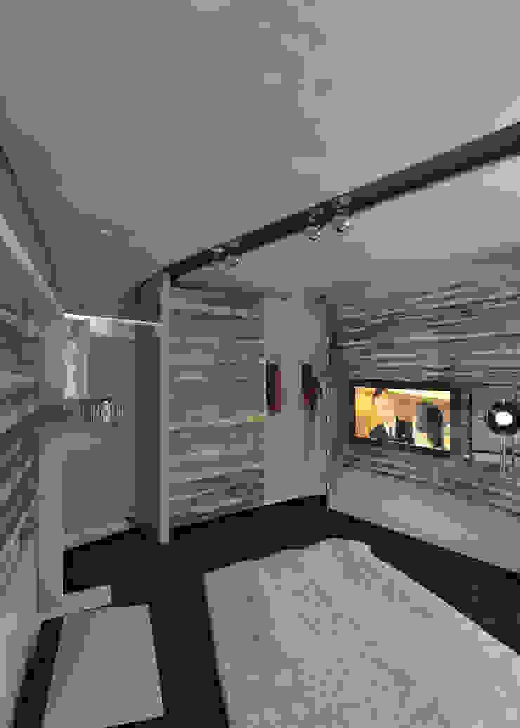 Dormitorios de estilo minimalista de Частный архитектор, дизайнер Minimalista
