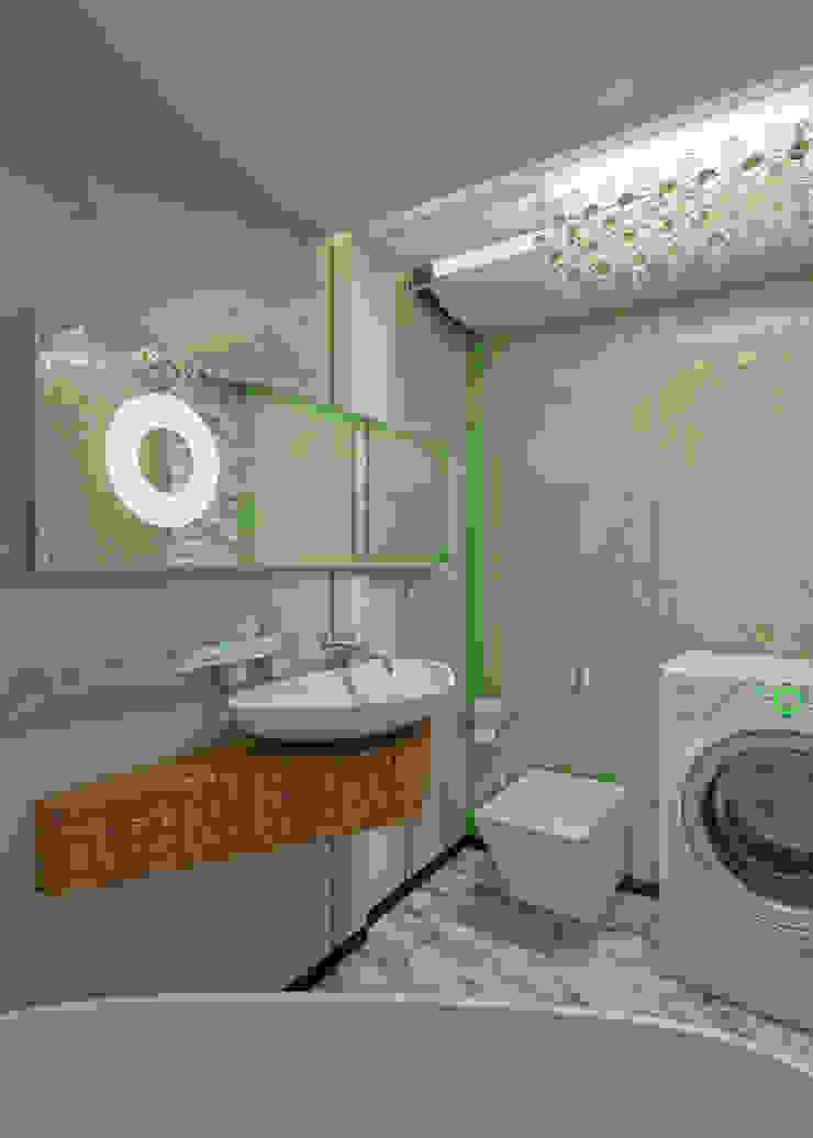Minimalistyczna łazienka od Частный архитектор, дизайнер Minimalistyczny
