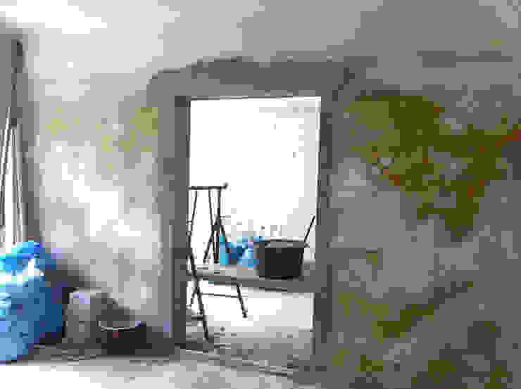Durchbruch Wohnzimmer und Wohnküche von Susanne Stauch