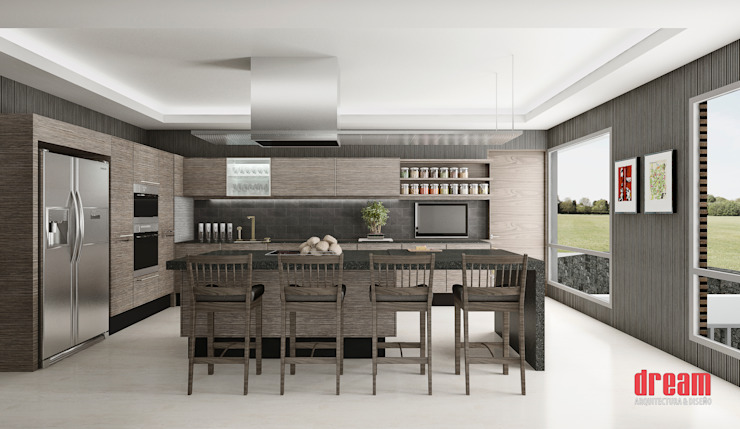 Modern Kitchen by Estudio Meraki Modern