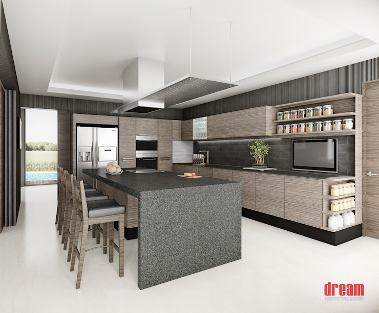 Modern style kitchen by Estudio Meraki Modern