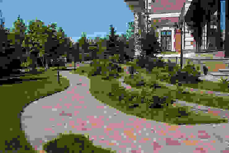 Vườn phong cách kinh điển bởi Land-proekt Kinh điển
