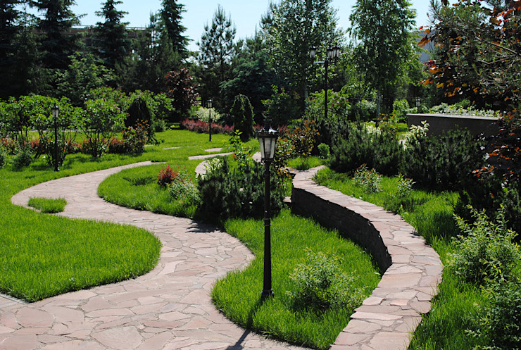 Land-proekt Classic style gardens