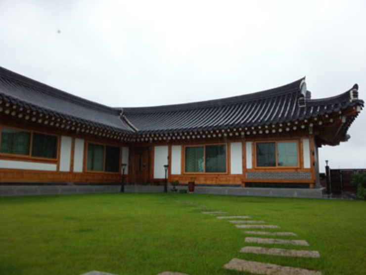 장흥리 한옥마을 내 주택 아시아스타일 주택 by 금송건축 한옥