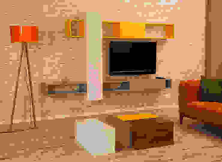 Fark TV Ünitesi & Part Orta Sehpa Sanal Mobilya Oturma OdasıTV Dolabı & Mobilyaları