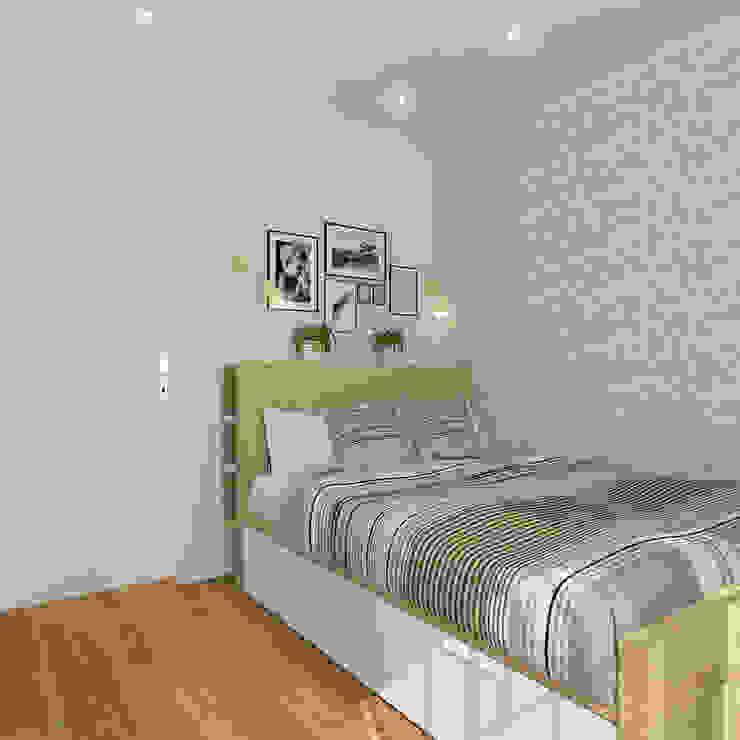 Mediterranean style bedroom by Design Rules Mediterranean