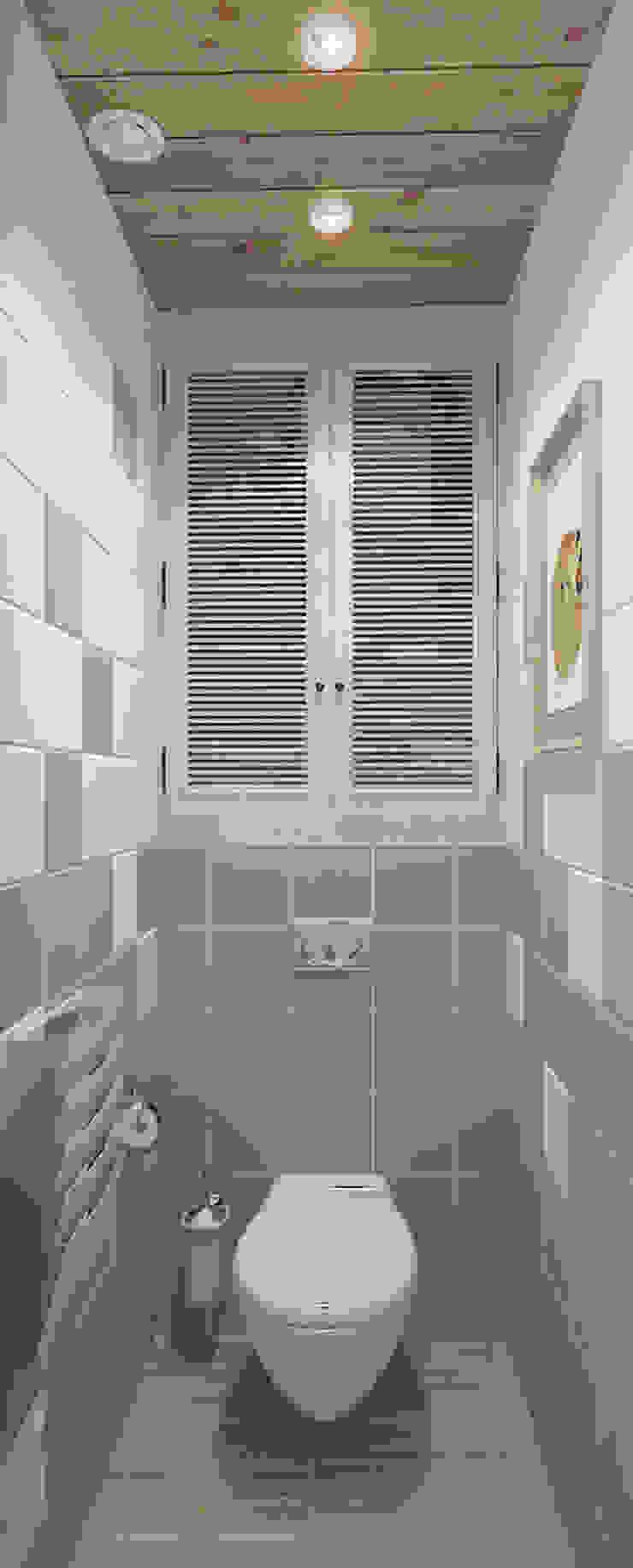 Mediterranean style bathrooms by Design Rules Mediterranean