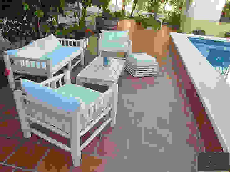 MUEBLES DE OLIVO SIOLCA Garden Furniture Solid Wood Transparent